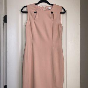 NWT Calvin Klein blush pink dress
